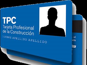 Tarjeta Profesional de la Construcción (TPC)